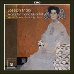 CD: The Complete Works for Piano Quartet
